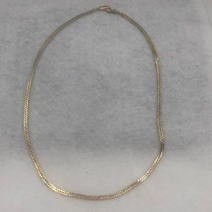 Curb link chain 14 karat gold